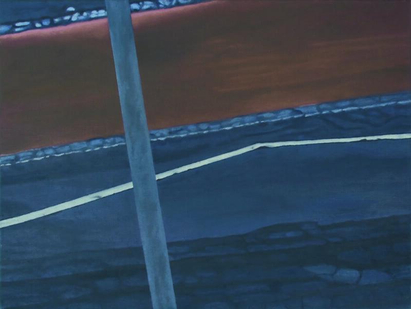 Weg, 2006, Malerei von Andrea Eitel