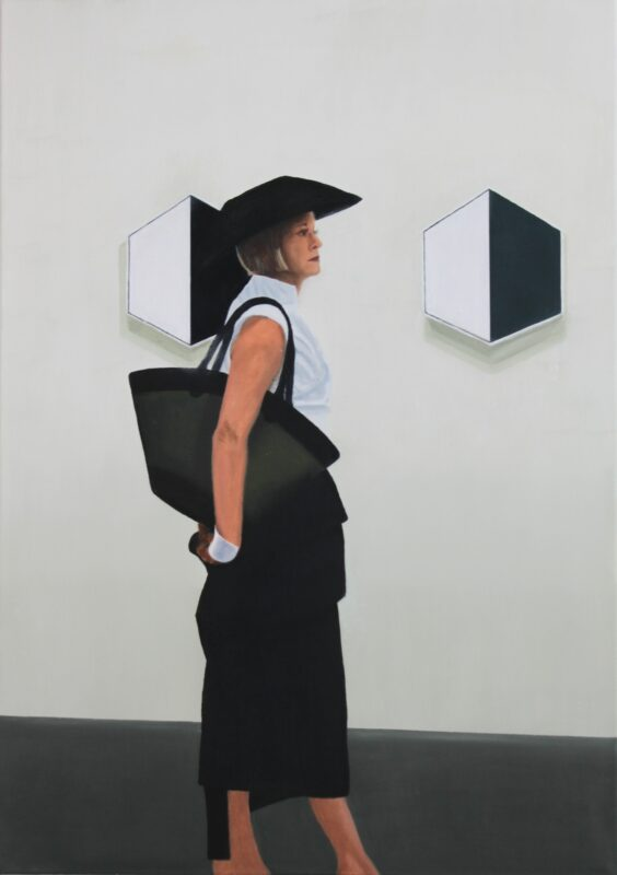 en passant, 2015, Malerei von Andrea Eitel